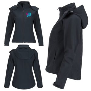 veste personnalisée impression logo softshell capuche