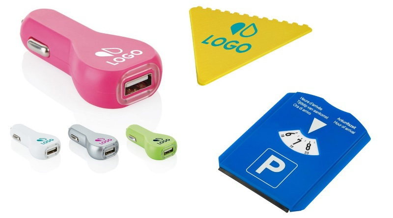 Accessoires publicitaires pour la voiture : des cadeaux utiles au quotidien !