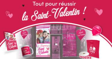 Orientez vos supports publicitaires aux couleurs de la Saint-Valentin !