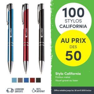 offre salon pro stylos publicitaires