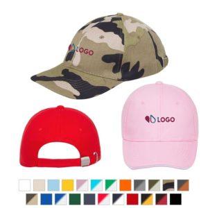 casquettes publicitaires brodées