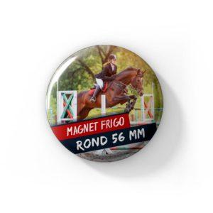 Magnet frigo publicitaire 56mm